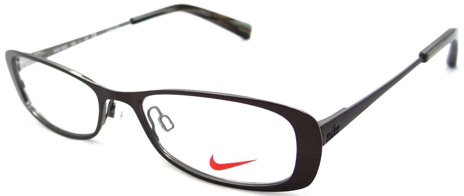 Eyeglass Frames For Petite Faces : NIKE RX EYEGLASSES FRAMES 5569 246 46X16 COFFEE SMALL ...