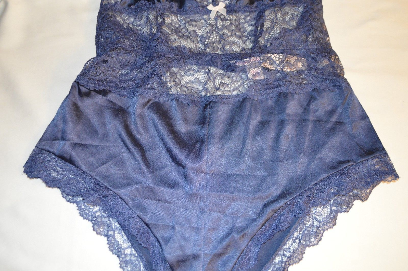 NWT Victoria s Secret Satin   Lace Teddy in and 50 similar items d2525446c
