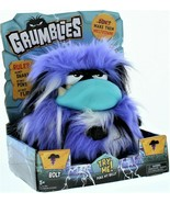 new Grumblies Bolt Purple Interactive Pet Monster Action Plush Hot Sound... - $14.90