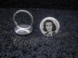 925 Sterling Silver Adjustable Ring Your Custom Image Keepsake Photo - $39.00