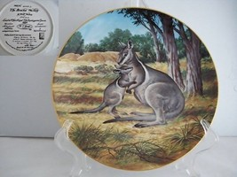 The Bridled Wallaby Endangered Species Porcelain Collector Plate - $19.89