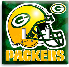 GREEN BAY PACKERS FOOTBALL DOUBLE LIGHT SWITCH ... - $11.99