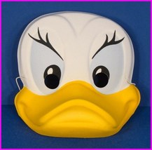 Daisy Duck with Big Yellow Bill Walt Disney Adult Costume Mask Vintage - $557,11 MXN