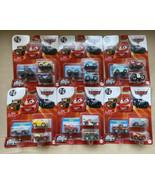 Disney Pixar Cars 3 Pack x 6 Mini Racers Metal Series 2021 Racing Wheels... - $64.99