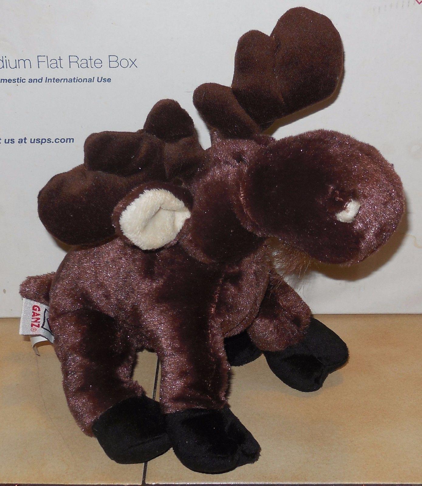 "Ganz Webkinz Moose 9"" plush Stuffed Animal toy - $7.25"