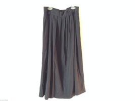 "Briggs New York Women's Size 16 Black Flowy Skirt 32"" Long, Elasticated Waist"