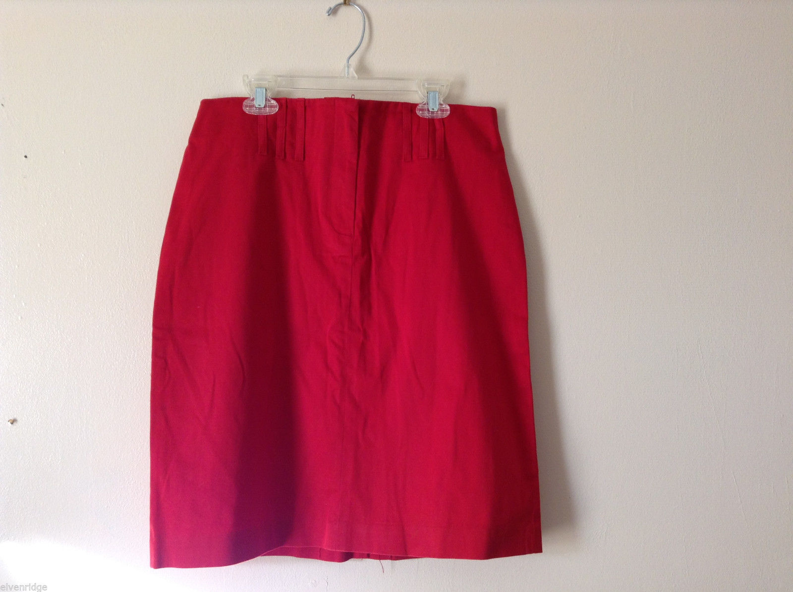 "Dalia Casual Women's Size 6 Vibrant Red Short Mini Skirt Miniskirt 21"" Long"
