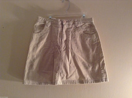 Lands' End Women's Size 14 Corduroy Skirt Short Mini 100% Cotton w/ Pockets