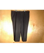 Men's  Black Joseph and Feiss Pleated Dress Pants 100 Percent Wool see m... - $49.49