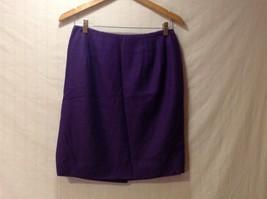 Womens Amanda Smith Pure Wool Purple Skirt, Size 12