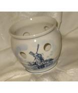 Vintage Handpainted Delft Crocus Bulb Pot Bowl - $19.95