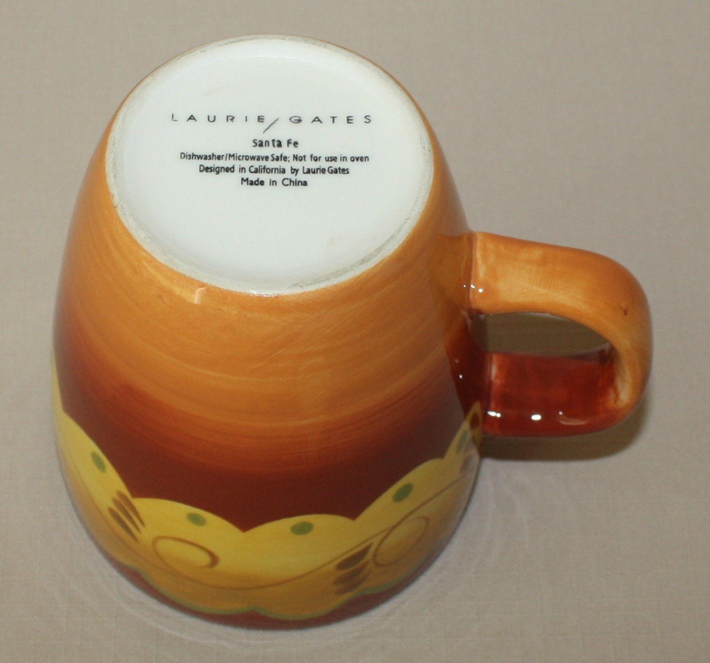 Santa Fe Orange Mug Laurie Gates And 26 Similar Items