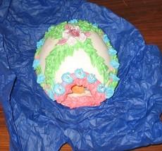 Large Handmade Sugar Easter Egg - $22.50