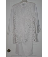 GMI White 3 Piece Beautiful Suit - Size 8 NWOT - $58.85