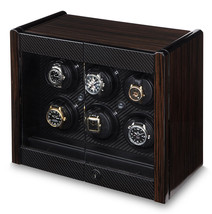 Orbita Avanti 6 Rotorwind Six Automatic Watch Winder Wood Cabinet W70001... - $4,202.55
