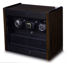 Orbita Avanti 3 Programmable Triple Automatic Watch Winder Cabinet W70010 - $2,519.55