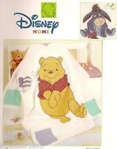 Disney crochet afghan pattern booklet: Pooh Snuggle-ups; eeyore; tigger;... - $34.54