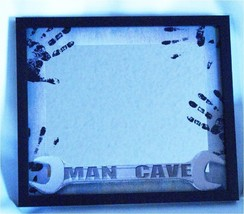 Mirror with Man Cave Theme Sign for Bar Den Gameroom Pub Dorm Room Man Cave - $18.95
