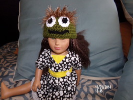 "18"" DOLL OR AMERICAN GIRL DOLL ~OSCAR DA GROUCH... - $12.00"