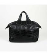 "Givenchy Embossed Patent Leather Medium ""Nightingale"" Bag - $1,460.00"