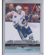 14/15 UD Series 1 Vancouver Canucks Michael Zalewski Young Guns RC card #247 - $3.99