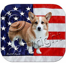 Welsh Corgi Patriotic Mouse Pad - $247,15 MXN