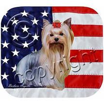 Yorkshire Terrier Patriotic Mouse Pad - $264,22 MXN