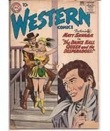 DC Western Comics #85 Matt Savage Trail Boss Dance Hall Queen Desperadoes - $4.95