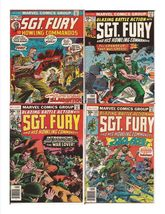 Marvel Sgt. Fury And His Howling Commandos Lot Issues #108, 135, 140, & 142 - $9.95