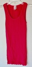 idea Fucshia pink stretchy form fitting sleeveless top in great condition - $11.78