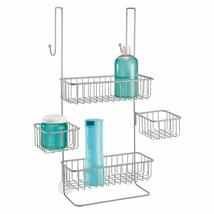 InterDesign Metalo Metal Bathroom Over the Door Shower Caddy with Storag... - $56.42