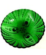 Burple Green Footed Scallop Anchor Hocking Glas... - $58.77