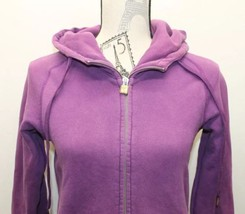 Original TNA Women Hoodie Violet Sz XS Zipper Cotton Blend - $23.01