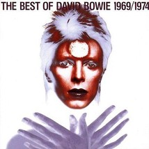 David Bowie The Best Of 1969/1974 Cd (1997) Greatest Hits - $18.50
