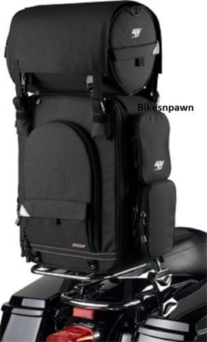 New Nelson Rigg Riggpaks CTB-950 King Tourer Motorcycle Sissy Bar Bag & Cover