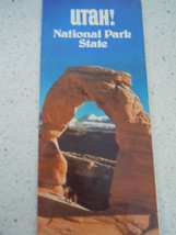 Utah! National State Park 1979 Travel Brochure - $3.99