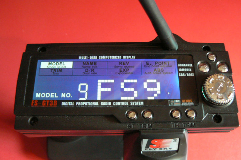 FLY SKY FS-GT3B 2.4 GHZ RADIO SYSTEM 10 MODEL TX RX NEW TESTED READY TO PLAY