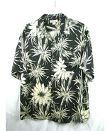 Vintage Mens TOMMY BAHAMA 100% SILK  Floral Camp Button Down Shirt : Siz... - $32.62