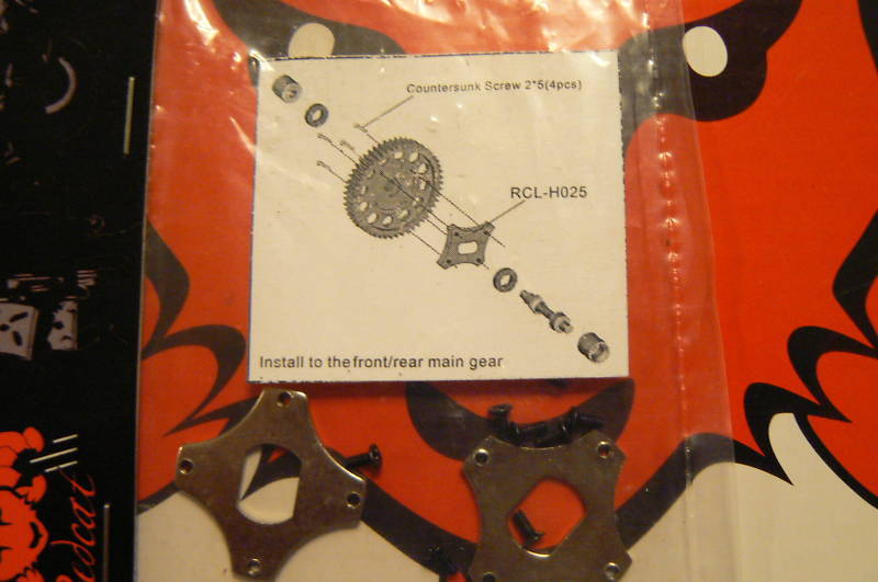 MAIN GEAR SAVER REDCAT ROCKSLIDE SUPER CRAWLER RCL-H025