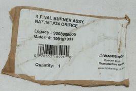 A O Smith K Final Burner Assembly Natural Gas 16 Inch Number 34 image 9