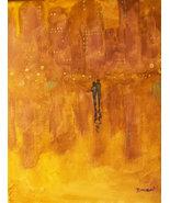 Original 8x10 Abstract Canvas Wall Art 11 -: rdoward fine art - $19.00