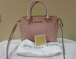 Michael Kors Selma Studded Medium Satchel - $295.00