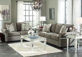 NEW BONN Modern Living Room Couch Set Furniture - Gray Chenille Sofa & L... - $24.227,45 MXN