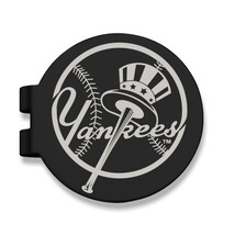 Stainless Steel New York Yankees Black Prevail Engraved Money Clip [Yan0... - $16.49