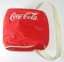 Coca-Cola Vintage Style Soft Cooler Lunch or Drinks Compact Coke Bag w/ ... - $9.75