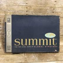 Summit Global Strategy Board Game Vintage 1961 Milton Bradley Near Complete - $19.95