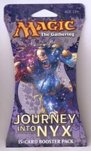 Magic The Gathering Journey Into Nyx Booster Pack Retail Packaging NEW - $8.95