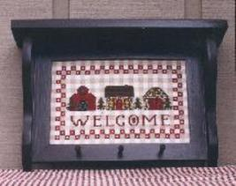 CLEARANCE Welcome cross stitch chart M Designs - $3.00