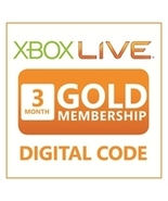 3-Month Microsoft Xbox 360/ONE Live Membership ... - $19.99