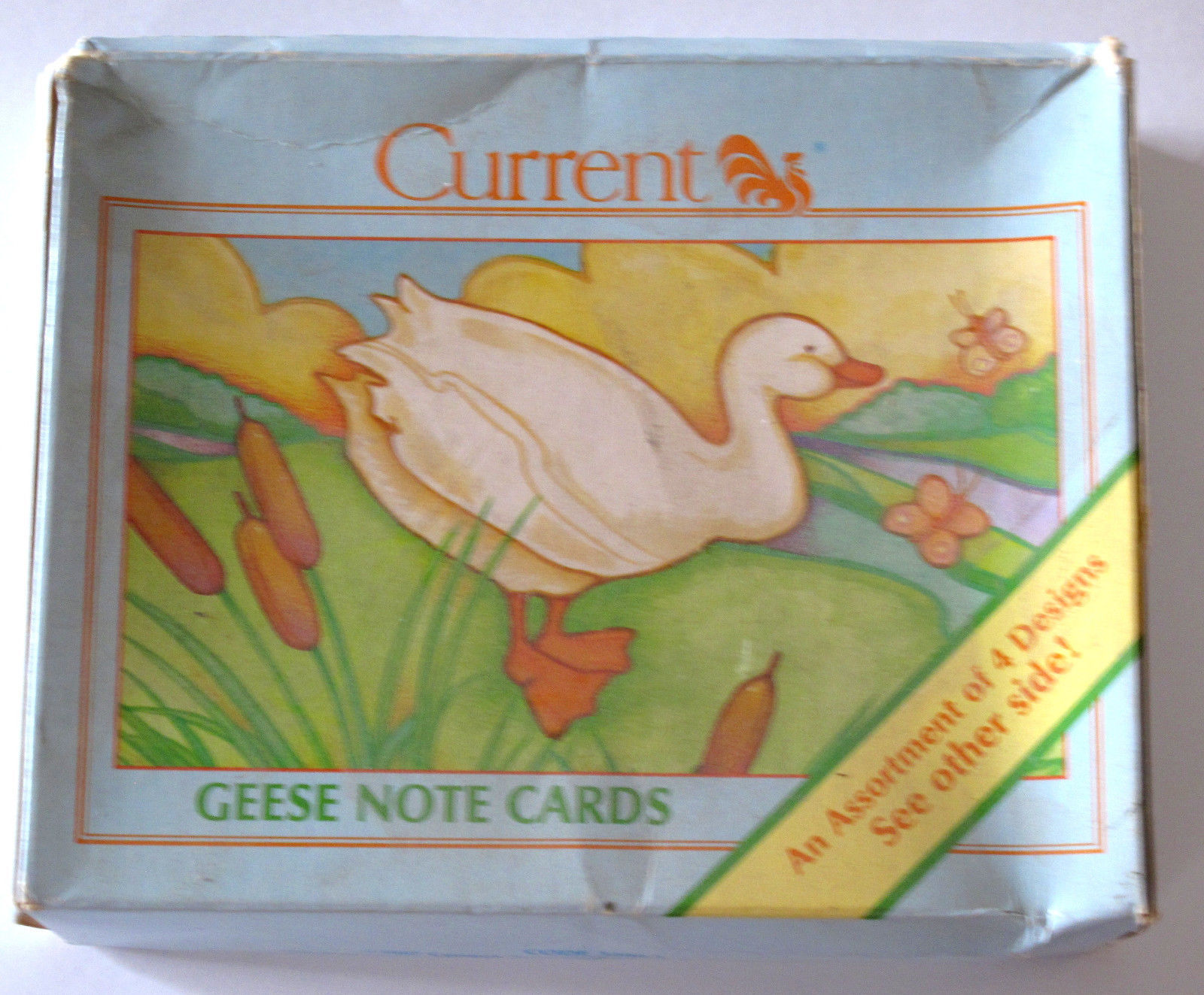 Primary image for Geese Vintage Stationery 12 Note Cards with Envelopes
